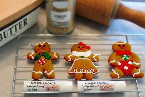 Gingerbread Scented Lip Balm