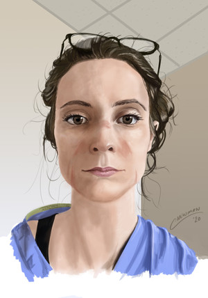 Portrait for NHS Heroes