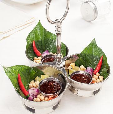 Délicieu cocktail thaïlandais à composer pour recevoir ses amis ou sa famille
