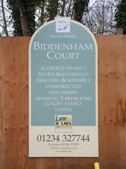 Shaped 8ft x 4ft Site Board