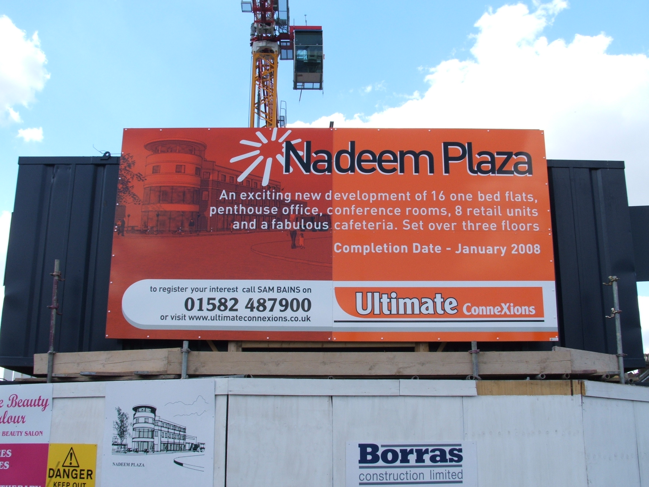 Development site board