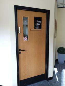Door Plaque