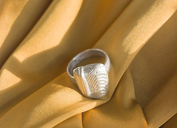 Cuttlebone: Abstract Band Ring