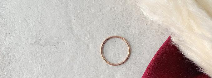 Rose Gold Single Ring