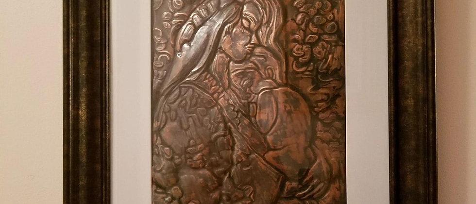 Copper Tooling Wall Art