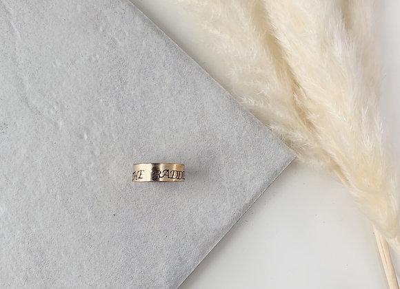 The Baddest Gold Fill Ring