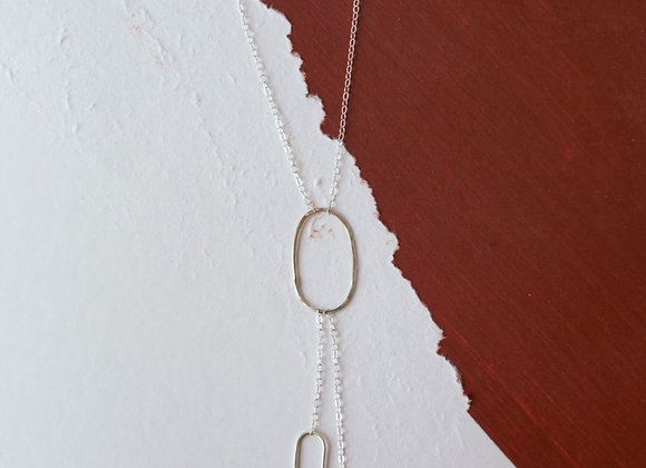 Asymmetrical Bolo Necklace