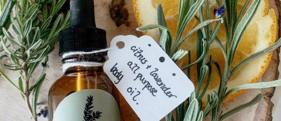 Citrus Lavender All Purpose Body Oil