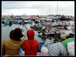 חורף בנמל יפו