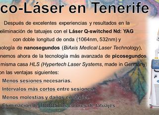 Láser de picosegundos en Tenerife (La Laguna)