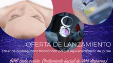 Láser de picosegundos fraccionado para el rejuvenecimiento de la piel