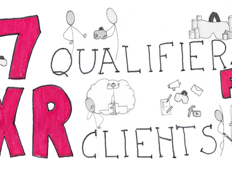 7 qualifiers for XR clients