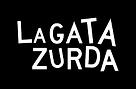 logotipo de la marca de camisetas y diseño La Gata Zurda