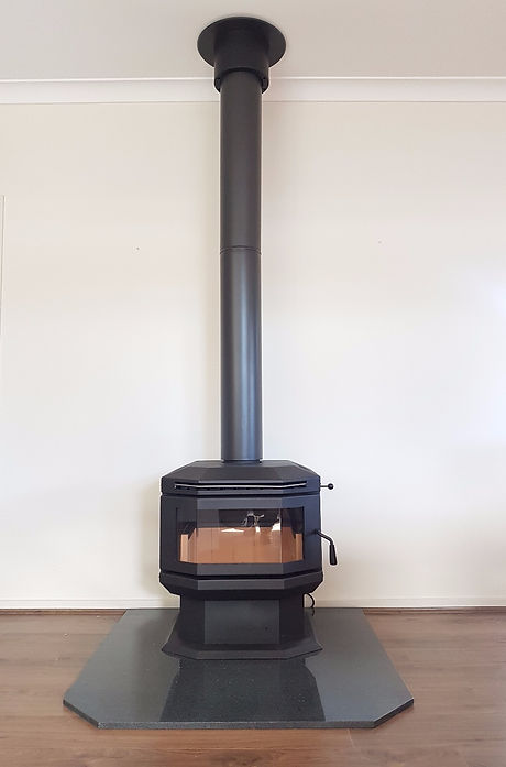 Phil Manchip Scandia Wood Heater Installation