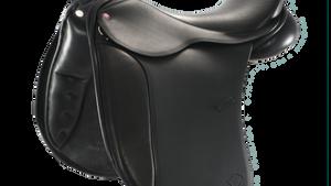 L & R The Berkeley™ Dressage Saddle Internal Knee Block Model