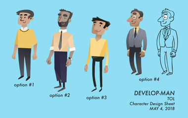 Township of Langley Video - Character Design