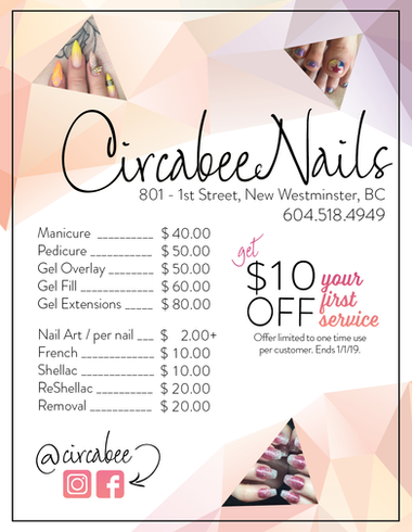 Circabee Pamphlet Design