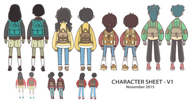 Carry On Character Concept