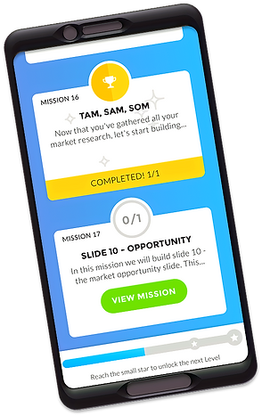 Mobile Screenshot | PitchQuest Online Pitch Education Program for Startups