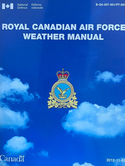 Royal Canadian air force weather manual