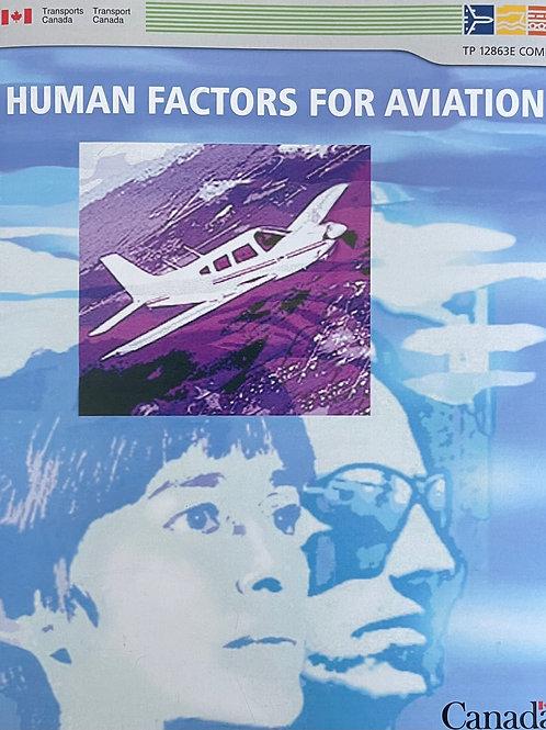 Human factors for aviation