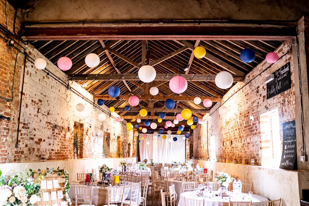 Fishley Hall Barn Wedding