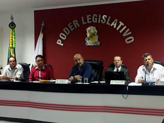 Chefe de Departamento de Obras, Luciano Morais comparece a 10ª Reunião Ordinária da Câmara