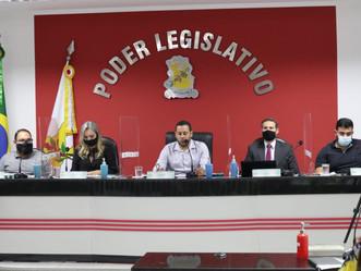 Aconteceu a 1ª Reunião Ordinária da Câmara Municipal em 2021