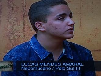 Lucas Amaral representa o Parlamento Jovem de Nepomuceno no programa Geração da TV Assembleia