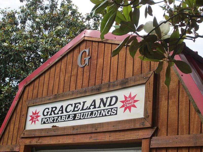 Graceland of Dallas - Storage Buildings/Sheds