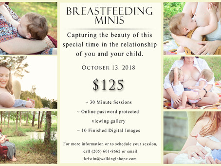 Breastfeeding Mini Sessions!