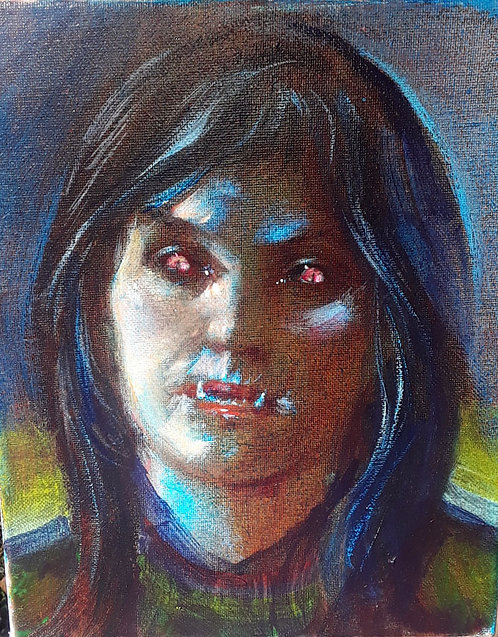 Richard Bober: Vampire Woman Portrait Study