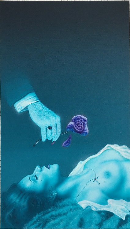 Terry Oakes: Flower of Evil