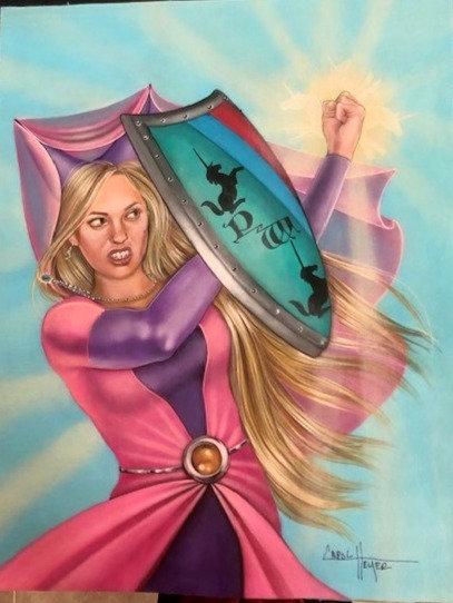 Carol Heyer: Warrior Princess