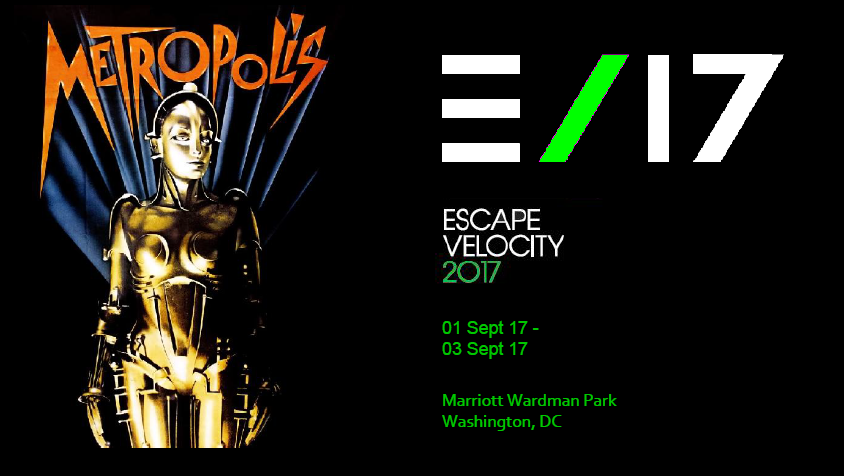 Escape Velocity Event Sept 1st-3rd