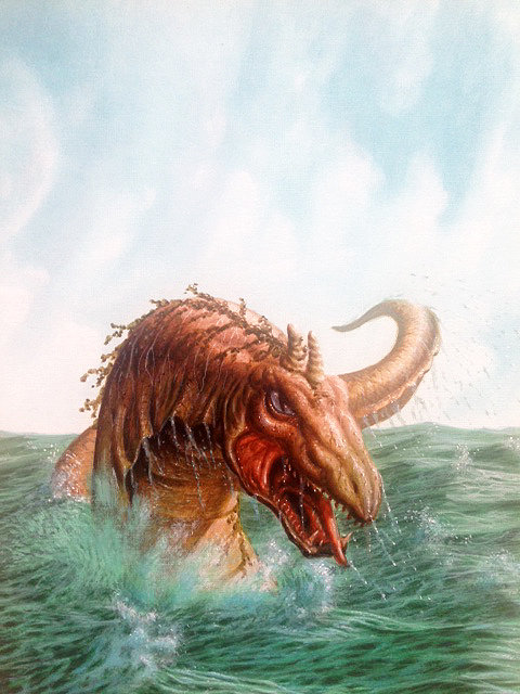 Terry Oakes: Great Sea Serpent