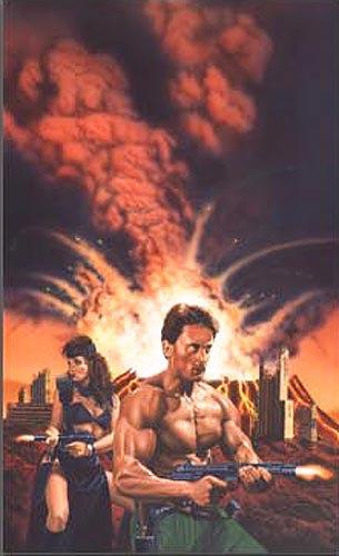 Fred Gambino: Doomsday Warrior series,