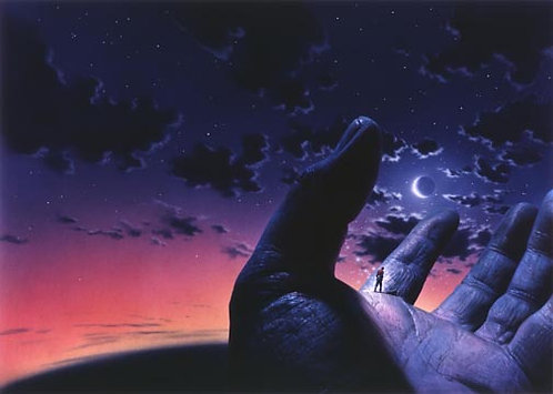 Chris Moore: The Cosmic Puppets