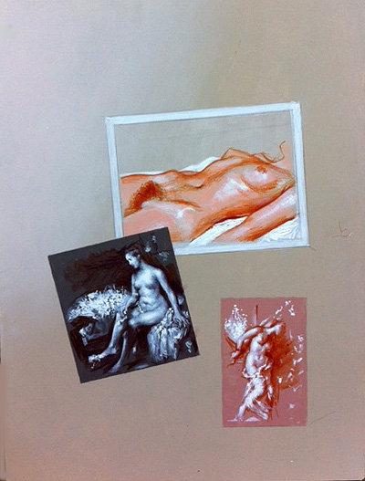 Richard Bober:  Nude Montage Study