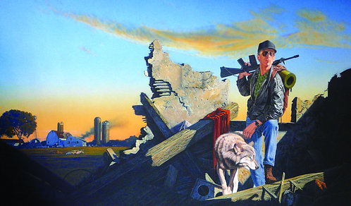 Fred Gambino: Wolf and Iron