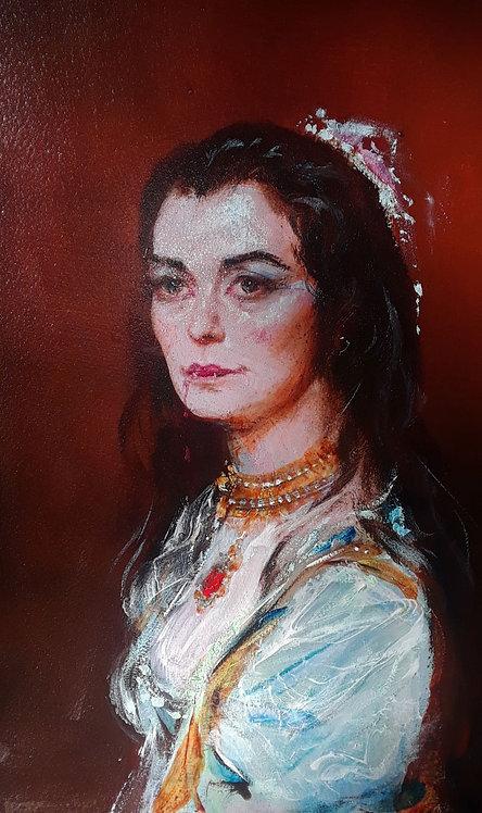 Richard Bober: Camilla Portrait Study