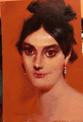 Richard Bober: Young Lady Vampire Portrait Study