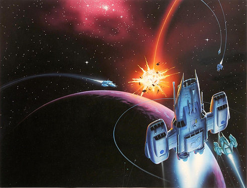 Chris Moore: Deathwing over Veyna