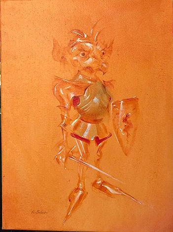 Richard Bober: Fantasy Creature in Armor Study