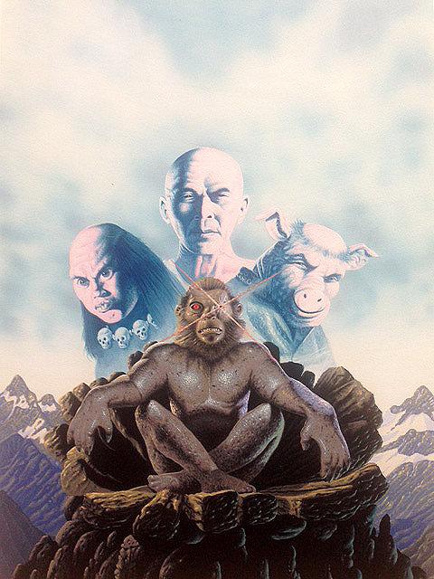 Terry Oakes: Monkey