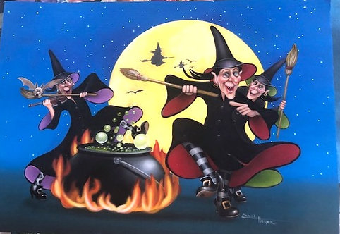 Carol Heyer: Dance of the Witches
