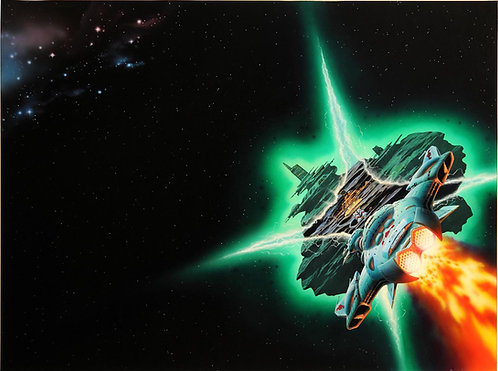 Chris Moore: Planet of the Warlord