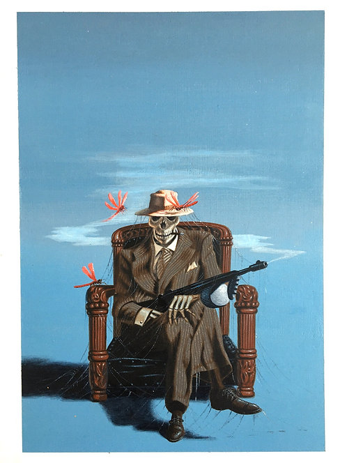 Terry Oakes: Gangsters, Ghosts and Dragonflies