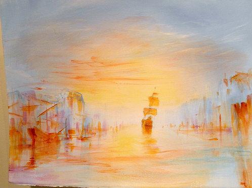 "Richard Bober: Goa ""Harbor"" study"