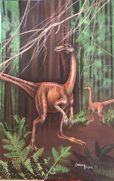 Carol Heyer: Dinosaurs! Strathiomimus